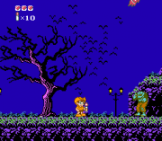 Cheats for Adventures in the Magic Kingdom NES
