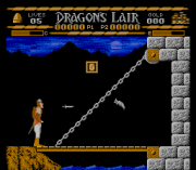 Cheats for Dragon's Lair NES