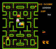Cheats for Ms. Pac-Man (Namco) NES