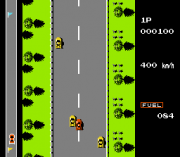 Cheats for Road Fighter NES