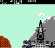 Cheats for Rush 'n Attack NES