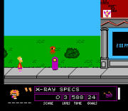 Cheats for The Simpsons – Bart vs. the Space Mutants NES