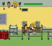 Cheats for Beavis and Butthead SNES