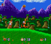 Cheats for Bubsy in Claws Encounters of the Furred Kind SNES