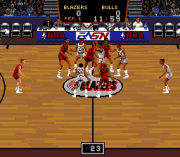 Cheats for Bulls Vs Blazers and the NBA Playoffs SNES