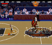 Cheats for College Slam Basketball SNES