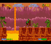 Cheats for Daffy Duck – The Marvin Missions SNES