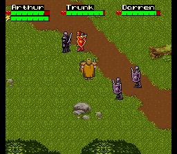 Cheats for King Arthur & The Knights of Justice SNES