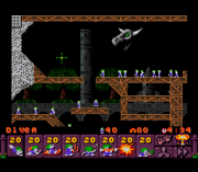 Cheats for Lemmings 2 – The Tribes SNES