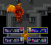 Cheats for Lufia & The Fortress of Doom SNES