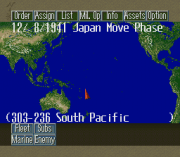 Cheats for Pacific Theater of Operations II SNES