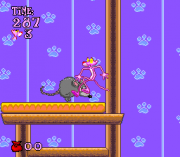 Cheats for Pink Panther in Pink Goes to Hollywood SNES