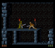 Cheats for Prince of Persia SNES