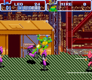 Cheats for Teenage Mutant Ninja Turtles IV – Turtles in Time SNES