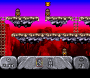 Cheats for The Humans SNES