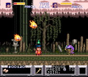 Cheats for The Legend of The Mystical Ninja SNES