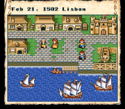 Cheats for Uncharted Waters SNES