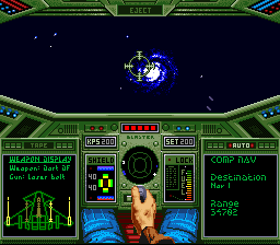 Cheats for Wing Commander SNES