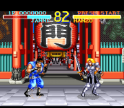 Cheats for World Heroes SNES
