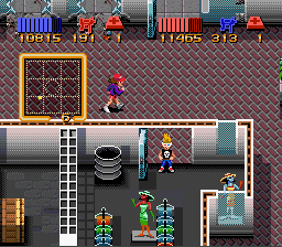 Cheats for Zombies Ate My Neighbors SNES