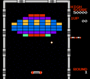 Play Arkanoid – Quester Conversion (NES) Online