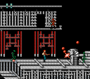Play Behind Enemy Lines (super contra hack) (NES) Online
