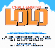 Play Challenging Lolo (NES) Online
