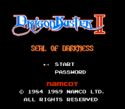 Play Dragon Buster II – Seal of Darkness (NES) Online