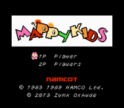 Play Mappy Kids (english translation) (NES) Online
