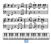 Play Miracle Piano Teaching System (NES) Online
