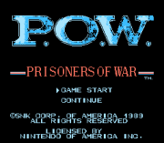 Play P.O.W.: Prisoners of War – Two Players Hack (NES) Online