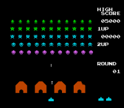 Play Space Invaders (NES) Online