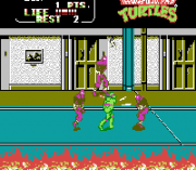 Play Teenage Mutant Ninja Turtles II – The Arcade Game (NES) Online