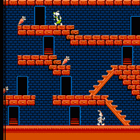 Play The Bugs Bunny Crazy Castle (NES) Online