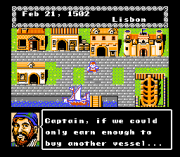 Play Uncharted Waters (NES) Online