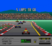 Play Al Unser Jr's Road to the Top (SNES) Online