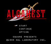 Play Alcahest (SNES) Online