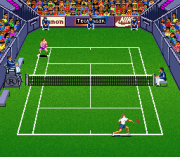 Play Andre Agassi Tennis (SNES) Online