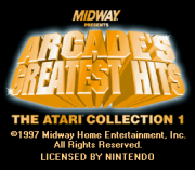 Play Arcade's Greatest Hits – The Atari Collection 1 (SNES) Online