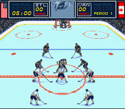 Play Brett Hull Hockey '95 (SNES) Online