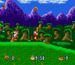 Play Bubsy in Claws Encounters of the Furred Kind (SNES) Online