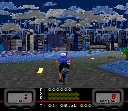 Play Cannondale Cup (SNES) Online