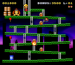 Play Classic Kong (version 1.0) (SNES) Online