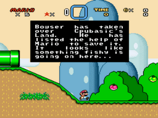 Play Cpubasic's Land 1 World Demo (SNES) Online