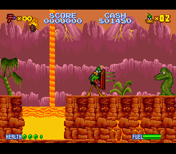 Play Daffy Duck – The Marvin Missions (SNES) Online