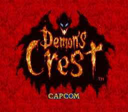 Play Demon's Crest (SNES) Online
