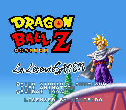 Play Dragon Ball Z – La Legende Saien (SNES) Online