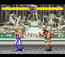 Play Fighter's History (SNES) Online