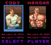 Play Final Fight Debug (SNES) Online