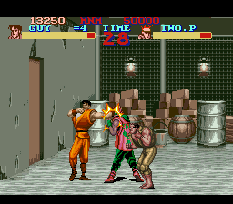 Play Final Fight Guy (SNES) Online
